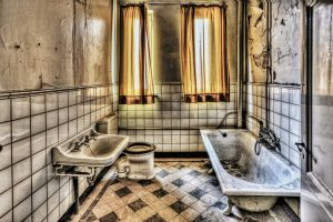 Quitar hongos del baño