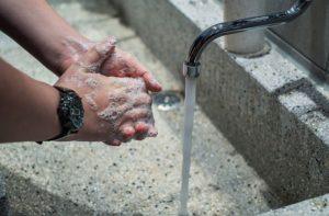 Lavarse las manos para evitar el coronavirus